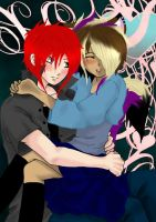 Taisuke and Danny by xXxDANIxXxEVILxXx