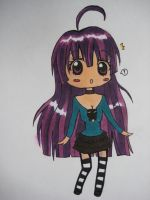 purple chibi by nat-chanthefrog
