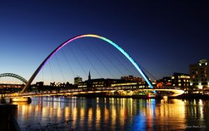 Rainbow Bridge II by KERphotography