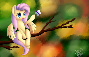 Fluttershy - Solitude by kawaiipony2