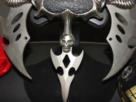 skull knife by skullchickStock