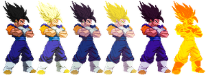 Vegetto Z2 updated + some palettes by Balthazar321