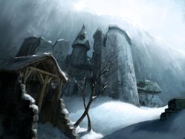 Stronghold on the wall by MarcSimonetti