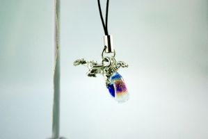 Fantasy Dragon Cell Phone Charm by michelleaudette
