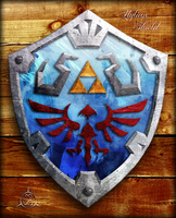 The Hylian Shield by S3NTRYdesigns