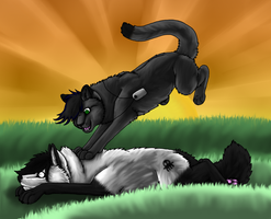 Panther and Tala by Silver-TailedHawk