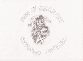 Sons of Anarchy logo by reoreoreo