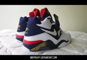 2012 Nike Air Force 180 'Olympic' 2 by BBoyKai91