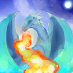 Blue Dragon by CheeseCakeProduction