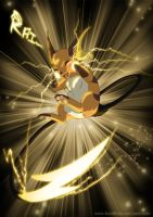 Draigo the Raichu by RukiFox