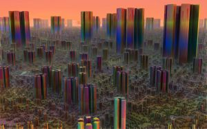 Rainbow City by allthenightlong