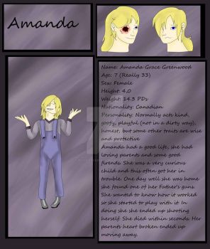 Amanda Greenwood Reference by PsychoStar1993