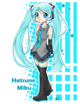 vocaloid: miku02 by keary