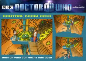 Doctor Who  -  Control Room 2 by mikedaws
