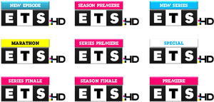 ETS HD Logo Variations by ETSChannel