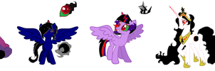 Princess Sombra shipping adopts by ChocoCrazeh