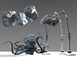 War of the Worlds Demo models by MangaGothic