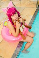 Annie _ Pool Party _ League of Legends by FeeNunes