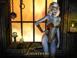 Danieva - Everquest Cleric by Sabreyn