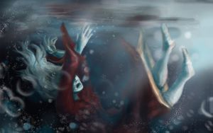 Sinking - 1440x900 by calthyechild