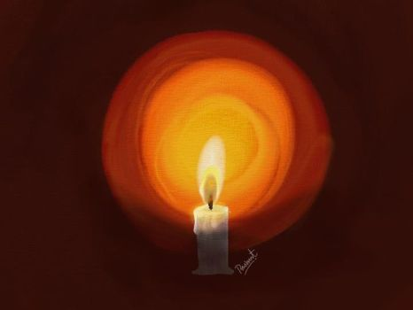 Candle light by prashantipte