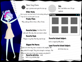 Ivory quick profile by Wolfkisses4bidden