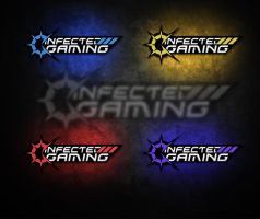 iNFECTED GAMING NEW LOGO! :D by drac3