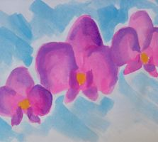 Orchids by opium-luvs-blue
