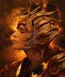 The Golden Warrior by babsartcreations