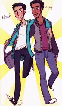 We should...-Troy+Abed by Surfer-Draik
