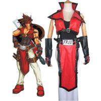 Guilty Gear Sol Badguy Cosplay Costume by morseedwina