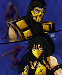 Mortal Combat Request for Scrpion-MKX by Wishsayer