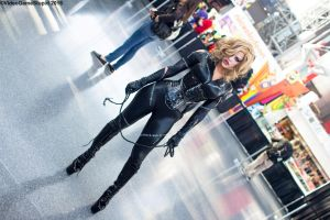 New York Comic Con 2015 - Catwoman 1 by VideoGameStupid
