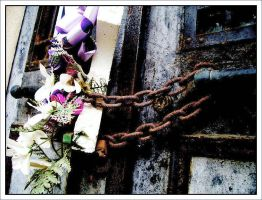 Chained Away by LarAshPhotography
