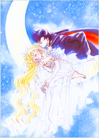 Tumblr: Serenity and Endymion by bakaprincess85