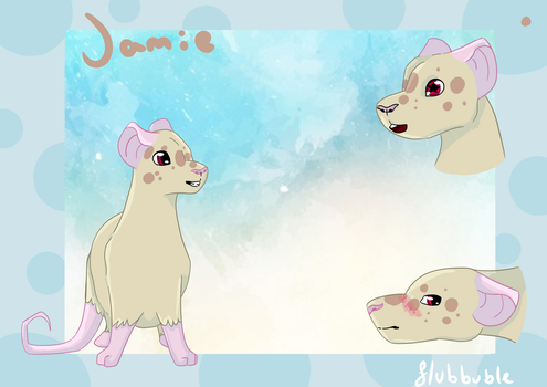 #011 Jamie Ref Sheet by Flubbuble
