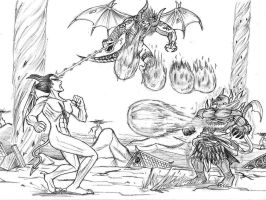 3 Demons for 3,666 pageviews by pricon