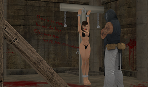 Torture Post Style 1 by TheLoneAbductor