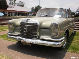 1963 Mercedes-Benz 220 (Front View) by Roger334