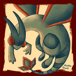 Pokemon Advent Challenge Day 5-Flygon by Mokka-Quill