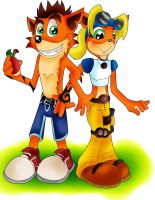 Of Bandicoots and Wumpa Fruit by TheRealPennyLane