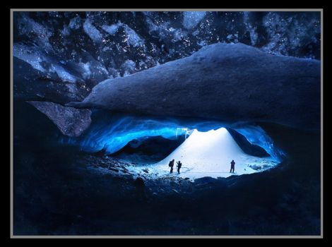 The Ice Cavern by michaelanderson