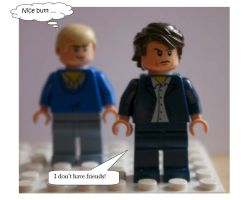 I don't have friends! BBC!Sherlock in Lego by degalaxis