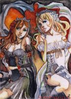 ACEO 9 - Once upon a time by HylianDragonCatty