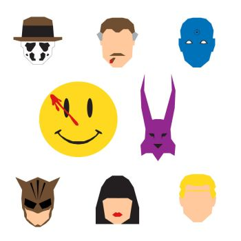Watchmen Icons by mattmagargee