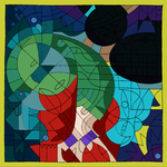 Disney's Cubist Characters by Trounced