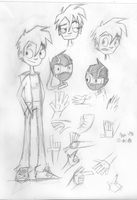 Randy Cunningham Sketches by Co-tum