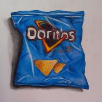 Doritos packet by Sarahlara23