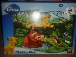 Lion King 24 piece puzzle! by Daniellee14