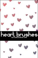 .Heart Brushes. by PrettyJonas